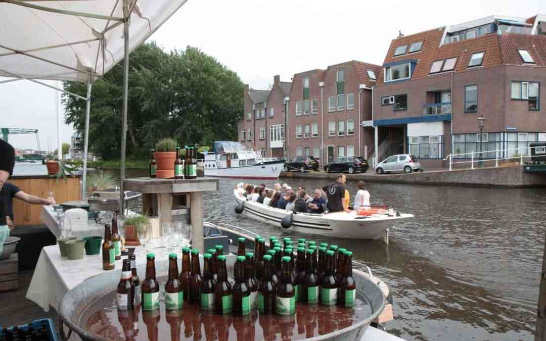 Overdekte rondvaart Leiden met luxe lunch 'on board'
