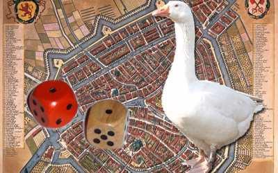 Stadsganzenbord Leiden
