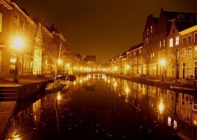 Stamptocht in Leiden