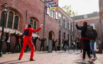Silent Disco Tour in Leiden
