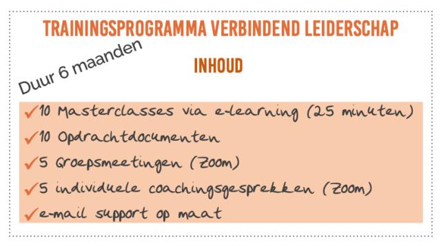 Trainingsprogramma Verbindend Leiderschap
