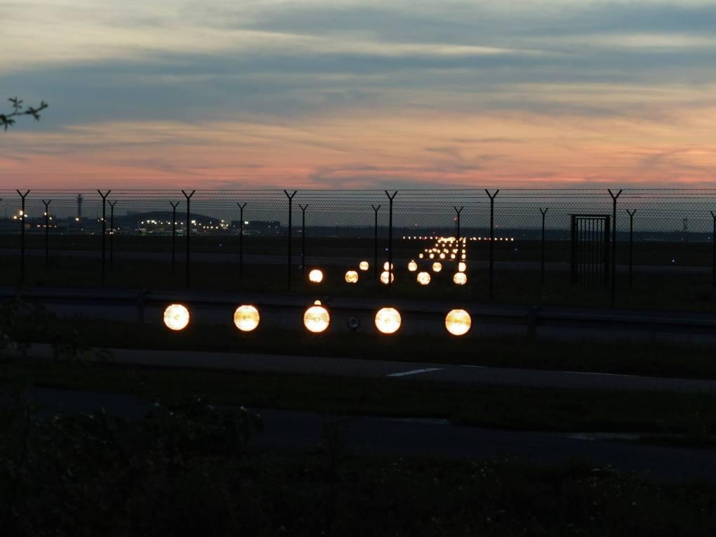 Landebahn als Metapher für Orientierungshilfe und Coaching