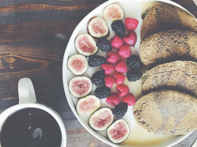 Vegan and Gluten-Free Buckwheat pancakes