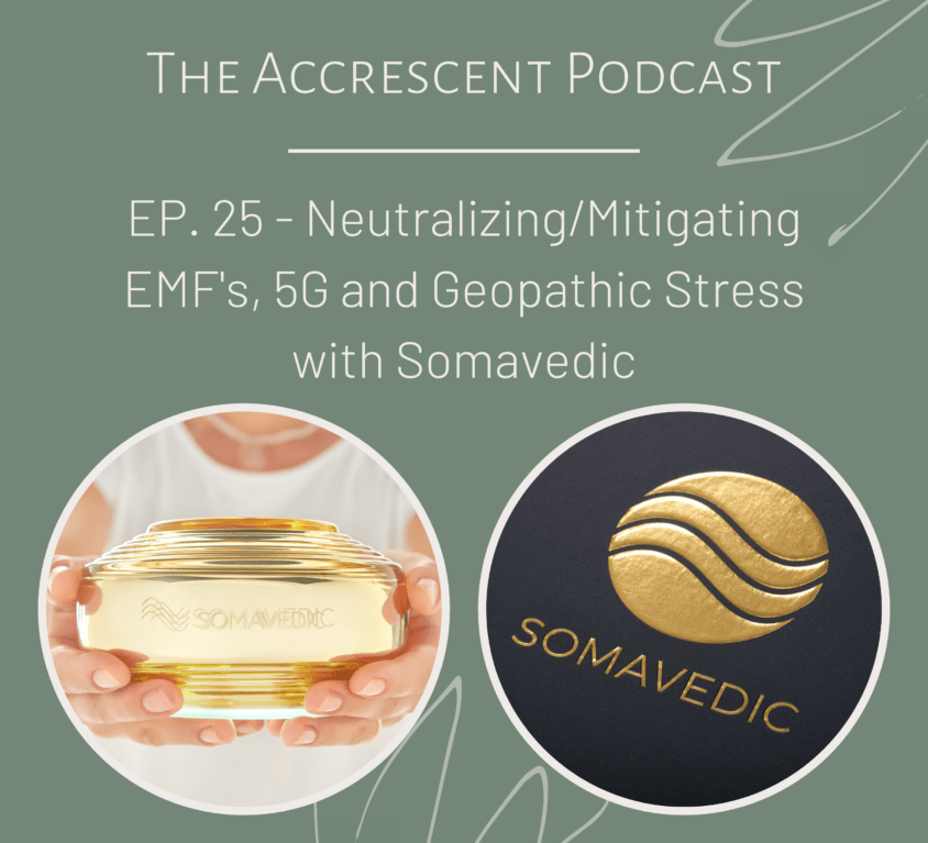 Neutralizing/Mitigating EMF's, 5G and Geopathic Stress with Somavedic