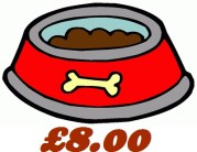 Basic Feed for 1 Dog Every Month