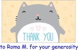 thankyoucatRoma