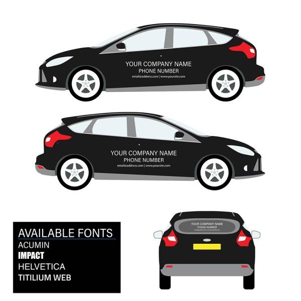 Car Graphics Kit