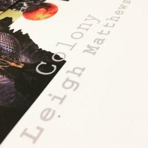 colony leigh matthews book cover