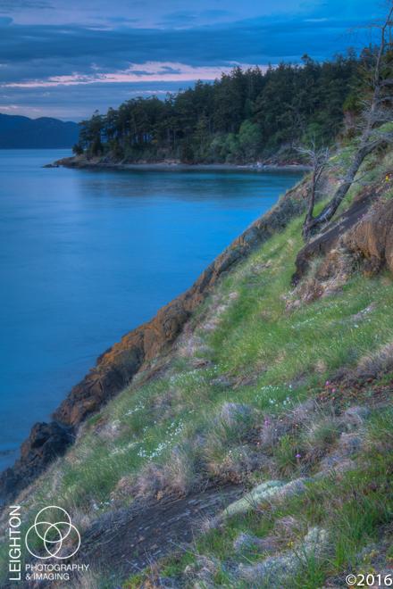 Dusk on Fidalgo Island