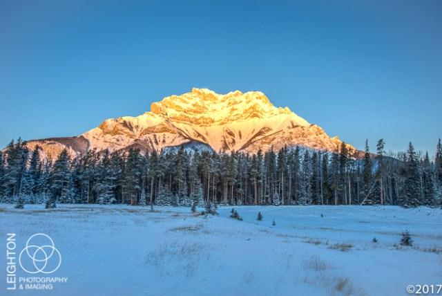 Banff's Cascade Mountain