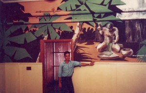 Mural inthe Officers' Mess, Pearl Harbor