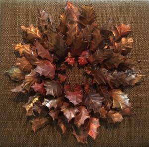 14 inch Holly Wreath