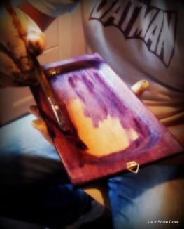 Making of (supporto in legno)