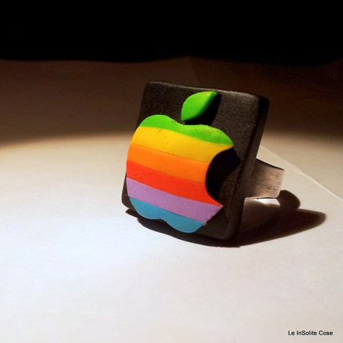 Vintage Apple Logo – Anello 2013