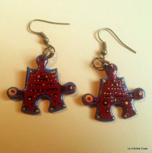 Puzzle Project - earring out of an old jigsaw - www.leinsolitecose.com (13)