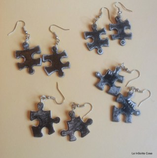 Puzzle Project - earring out of an old jigsaw - www.leinsolitecose.com (17)
