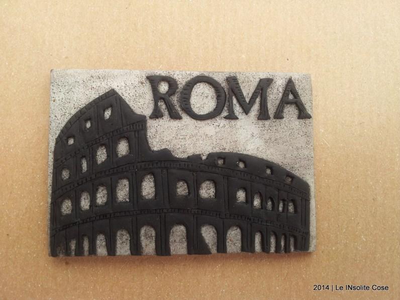Magnete Artigianale Colosseo Roma - Handmade in Rome by Roma - www.leinsolitecose.com (7)