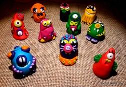 Mostri - Handmade Fimo Monsters - www.leinsolitecose.com 2014 (1)