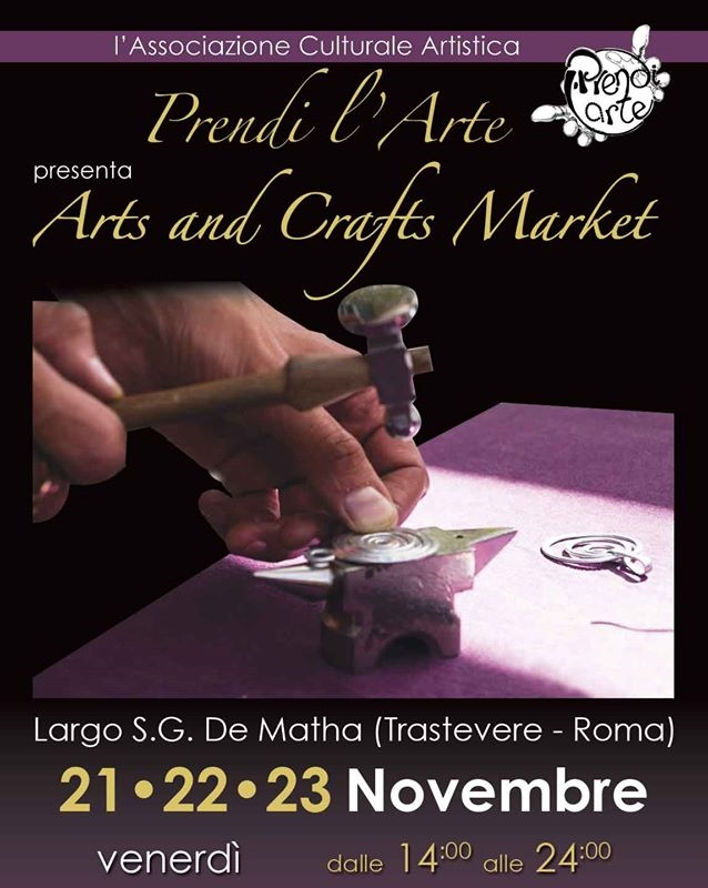 le InSolite Cose all'Arts and Crafts Market di Trastevere ROMA 21 novembre 2014jpg