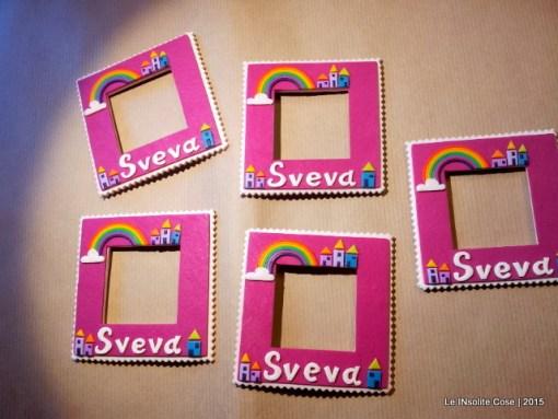 Magnete da frigo personalizzato con nome | Cornice portafoto artigianale