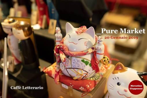 20 Gennaio 2019 – Mercatino Giapponese al Caffè Letterario (Roma)