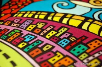GAIA - Quadro in paste polimeriche realizzato a mano - in VI concorso artigianato artistico Sapere delle Mani di Nazzano - Le INsolite Cose 2015 (10)