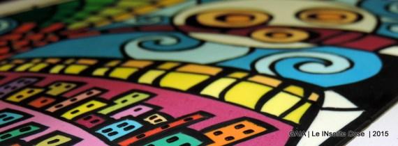 GAIA - Quadro in paste polimeriche realizzato a mano - in VI concorso artigianato artistico Sapere delle Mani di Nazzano - Le INsolite Cose 2015 (3)