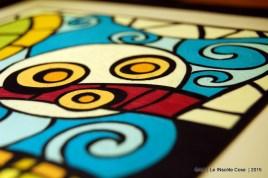 GAIA - Quadro in paste polimeriche realizzato a mano - in VI concorso artigianato artistico Sapere delle Mani di Nazzano - Le INsolite Cose 2015 (7)