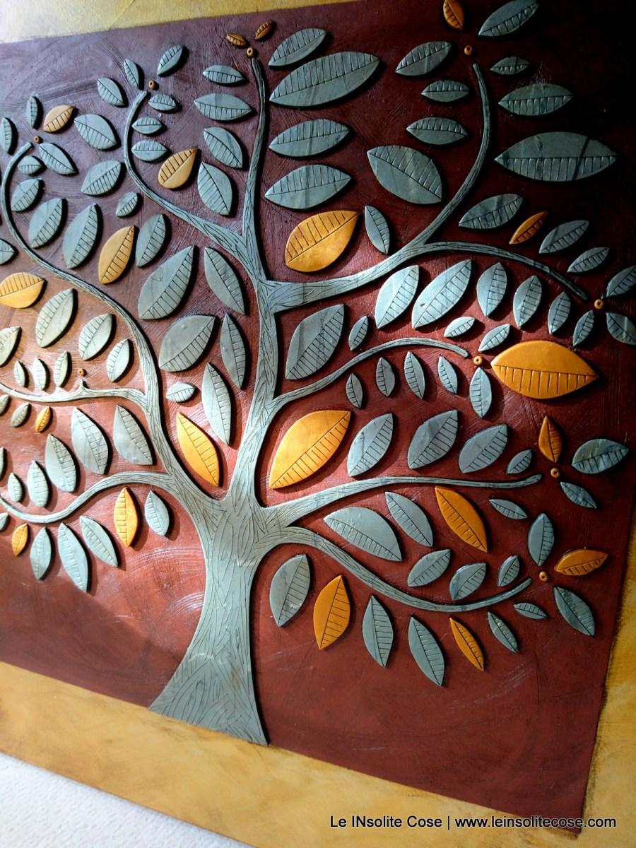 Quadro in pasta polimerica: Grande Albero della Vita