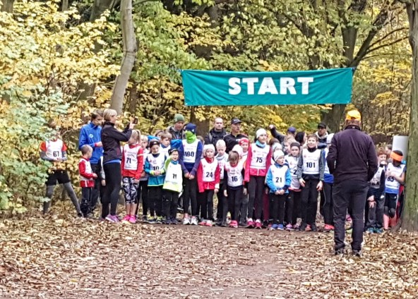 JuniorNordics, Herbstwaldlauf, November 2018