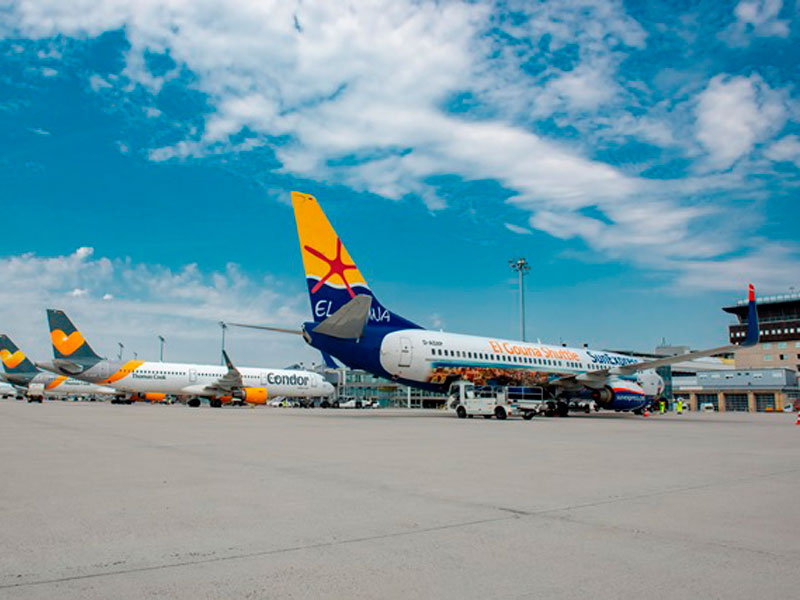 Holiday Planes Start At The Start Of The Holiday From Leipzig Halle Airport To National And International Destinations Archyworldys