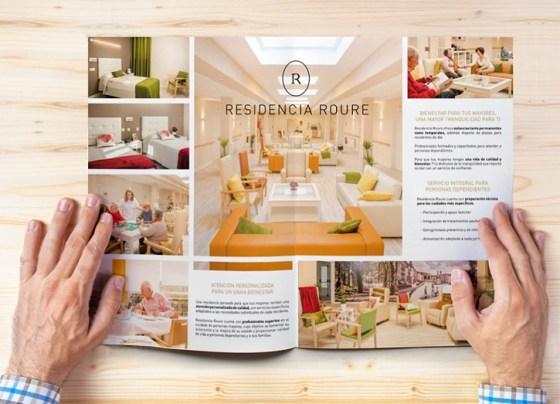 Residencia Roure folleto