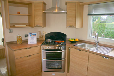 ABI Ambleside Static Caravan Kitchen