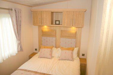 ABI Ambleside Static Caravan Master Bedroom