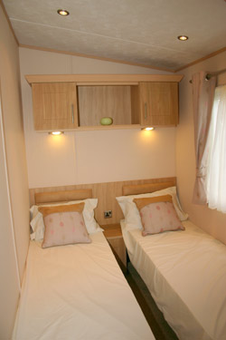 ABI Ambleside Static Caravan Twin Bedroom