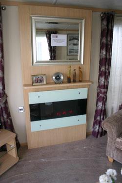 Carnaby Rosedale Static Caravan Fireplace