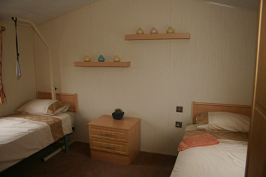 Willerby Rio Disabled Twin Bedroom