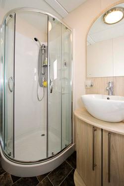 Delta Glade Static Caravan Shower Room
