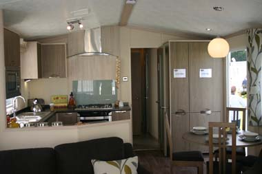 Carnaby Aspire Static Caravan Living Area
