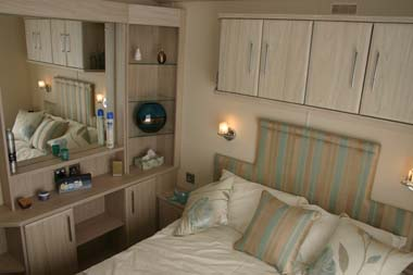 Carnaby Aspire Static Caravan Master Bedroom