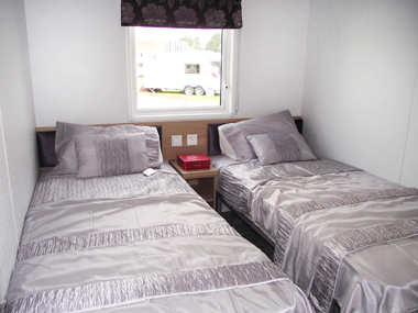 Willerby Linear - Twin Bedroom