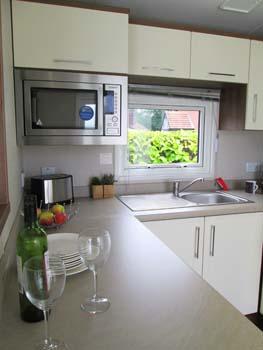 Willerby Chamberry  Kitchen Vert