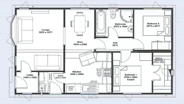 Tingdene Villa Floor Plan