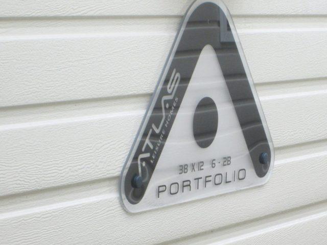Atlas Portfolio sign