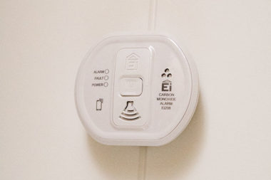 carbon-monoxide-smoke-alarm-detector-small for static caravan