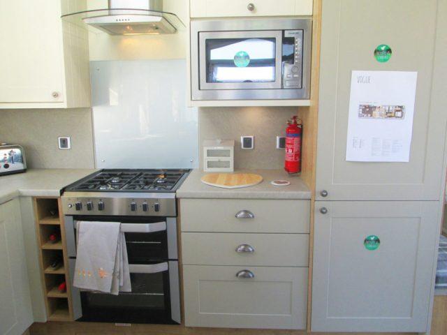Vogue Lodge - Willerby Holiday Homes Ltd Kitchen