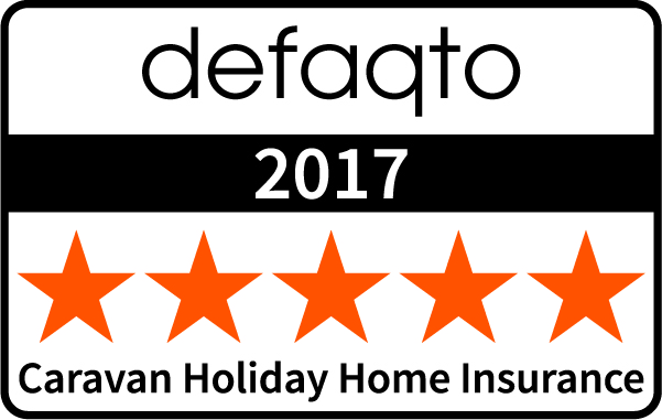 5 star rating for Leisuredays static caravan insurance