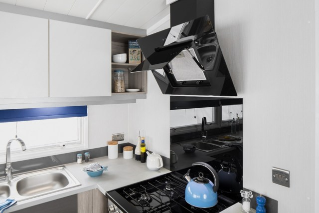 2017 Swift Antibes Cooker Extractor in Open Position