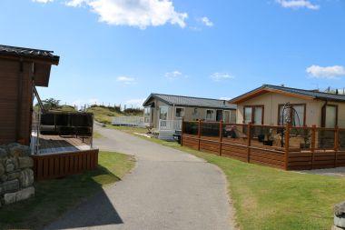 New lodges and statics