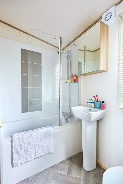 ABI St David static caravan En Suite Bathroom